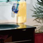 極上のガラス洗面化粧